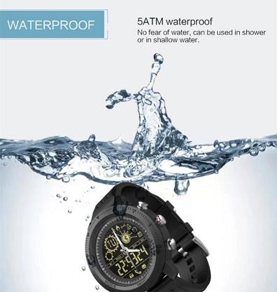Waterproof rugged usage
