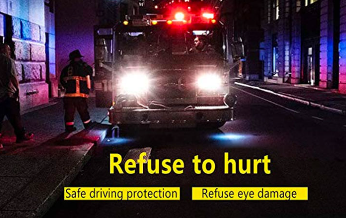 Glare free night driving